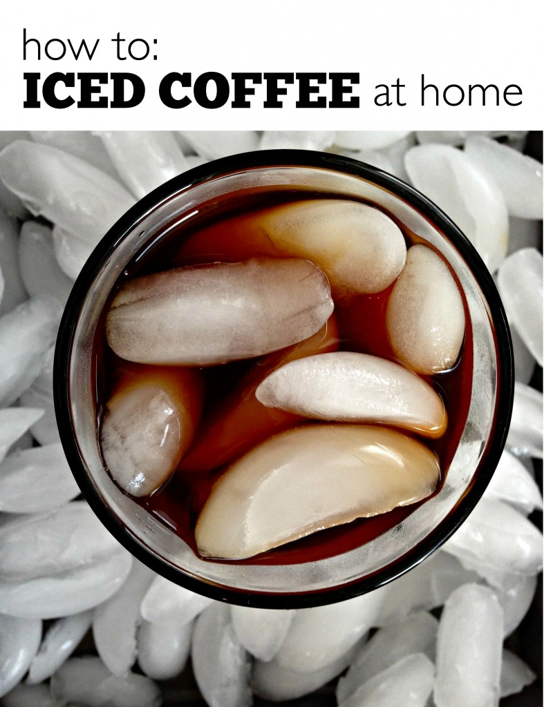 How to: Iced Coffee at Home #icedCoffee #ColdBrew #coffee