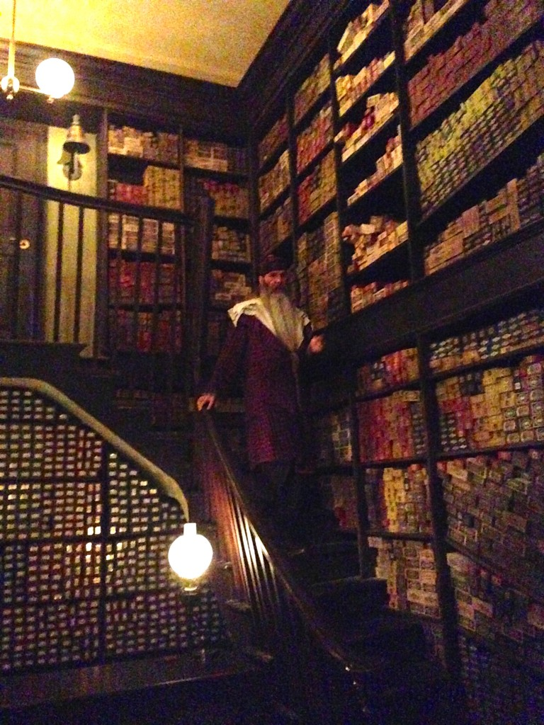 Ollivander's Wand Experience at The Wizarding World of Harry Potter