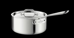 Essential Kitchen Equipment: 4-Quart Saucepan with Lid from All Clad #cookware #cooking #kitchen
