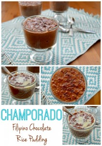 Champorado - Filipino Chocolate Rice Pudding | Rice Pudding Around the World | www.TheHungryTravelerBlog.com