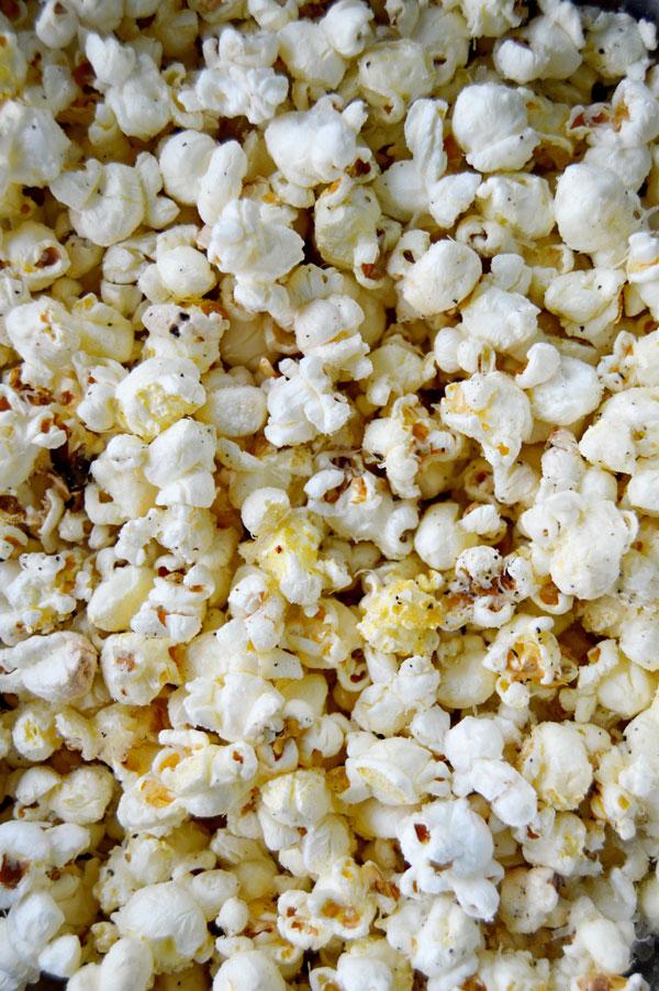 Truffle Parmesan Popcorn | www.TheHungryTravelerBlog.com