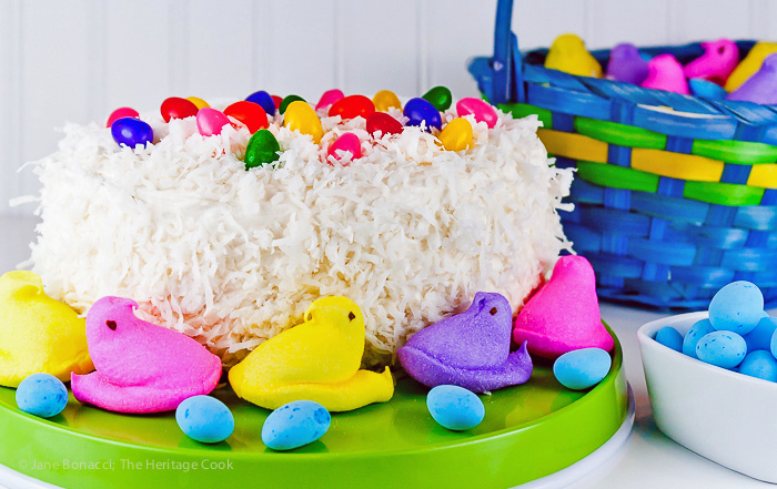 American White Chocolate Coconut Cake: 11 Food Recipes from Around the World | www.TheHungryTravelerBlog.com