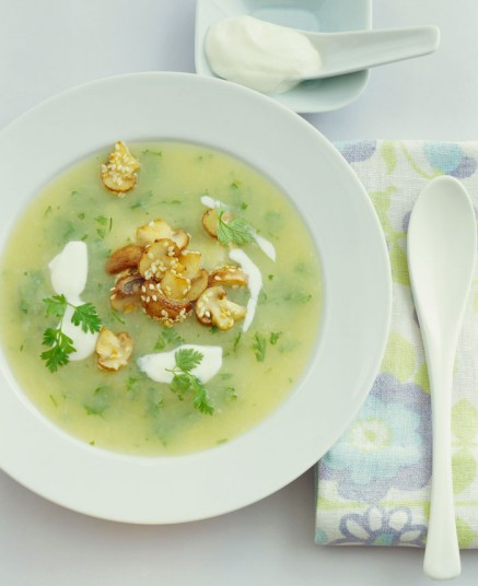 German Chervil Soup: 11 Easter Recipes from Around the World | www.TheHungryTravelerBlog.com
