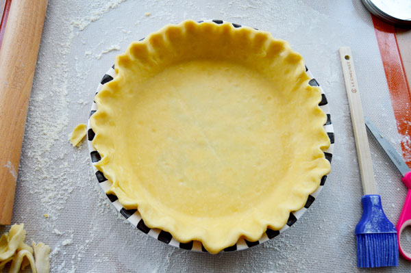 All Butter Pie Crust - How to Roll Out Pie Dough