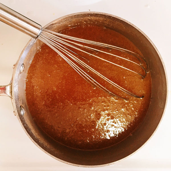 Tips for Better Baking: When making caramel, always have an ice bath nearby.