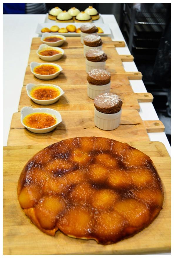 学习如何使法国小酒馆甜点厨师在巴黎与类镑