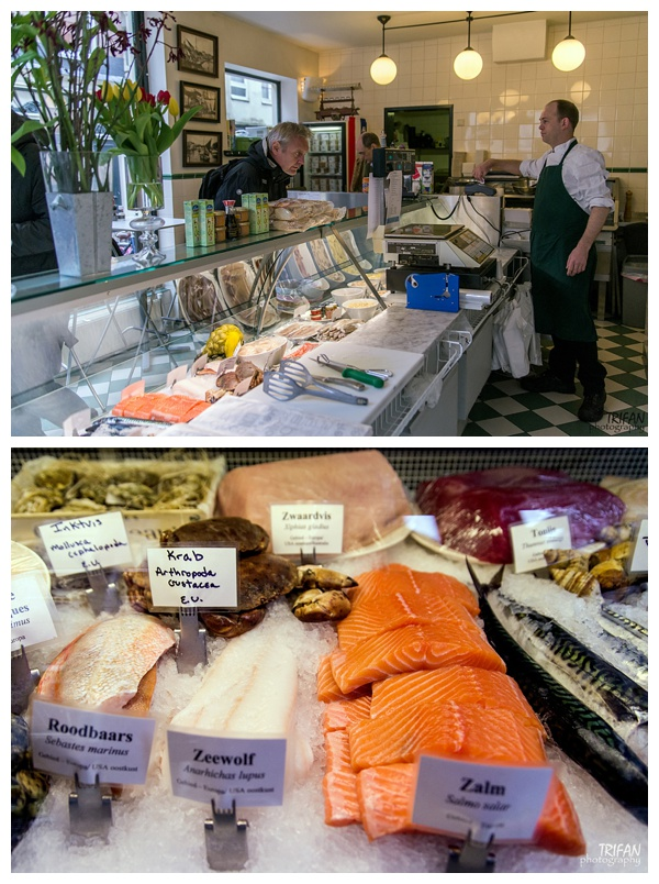 Vis Plaza Fish Shop | Eating Amsterdam Food Tour - Jordaan Food and Canals Tour