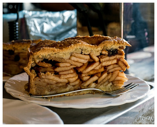 The Famous Apple Pie at Cafe Papeneiland | Eating Amsterdam Food Tour - Jordaan Food and Canals Tour