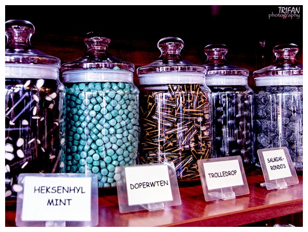 Candy Jars at Het Oud-Hollandsch Snoepwinkeltje | Eating Amsterdam Food Tour - Jordaan Food and Canals Tour