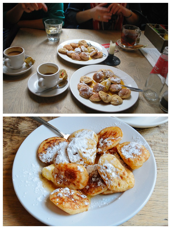 Poffertjes at Cafe de Prins | Eating Amsterdam Food Tour - Jordaan Food and Canals Tour