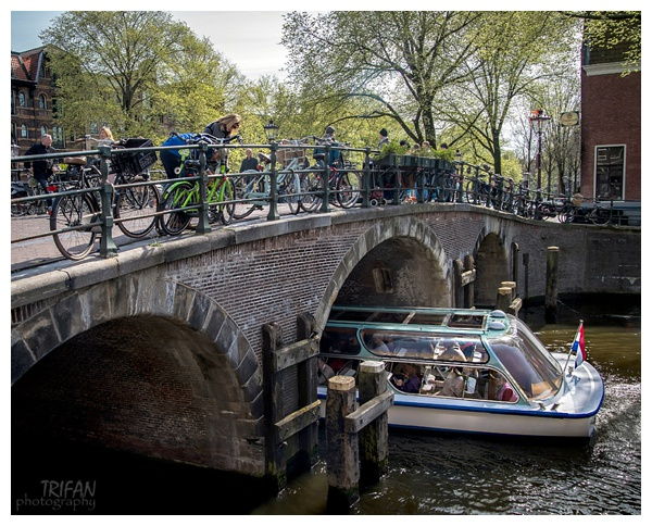 The view from Cafe Papeneiland | Eating Amsterdam Food Tour - Jordaan Food and Canals Tour