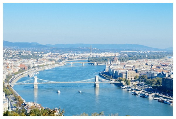 Budapest landscape on the Taste Hungary Budapest Food Tour