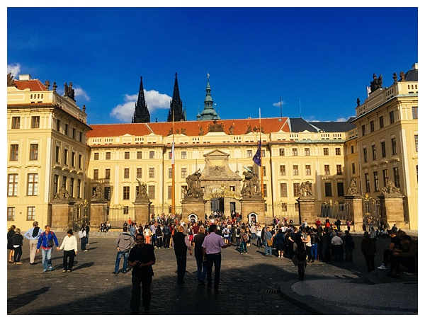Prague-Castle-Courtyard | foods to eat in prague