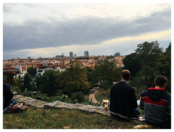 View-of-Prague-from-Wine-Festival | foods to eat in prague