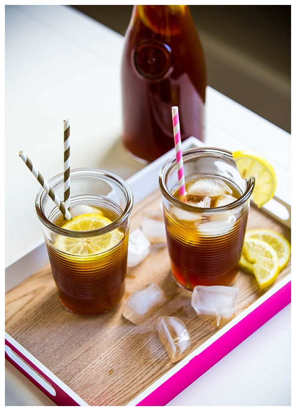 Iced Coffee Lemonade is a refreshing blend of cold brew coffee and sweet lemonade. It may sound a little strange, but it's surprisingly delicious! Perfect for summer!