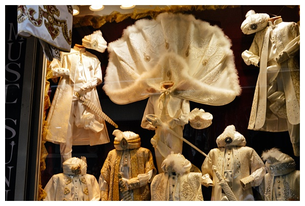 circumcision outfits Istanbul Grand Bazaar Tour