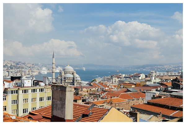 rooftop view Istanbul Grand Bazaar Tour