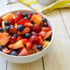 Ginger Vanilla Fruit Salad