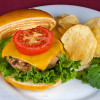 Grilled Turkey Burgers with Harissa Aioli from The Heritage Cook