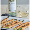 Asparagus Bundles with Prosciutto and Garlic-Herb Cheese