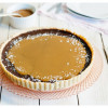 French Salted Caramel Chocolate Tart