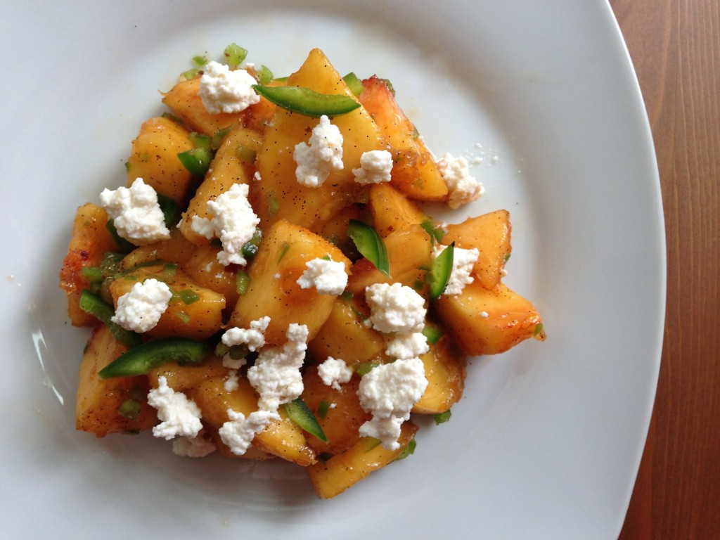 Save this recipe for when you have the ripest, sweetest peaches of the ...