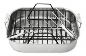 Essential Kitchen Equipment: Roasting Pan from All Clad #cookware #cooking #kitchen
