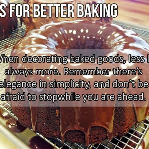 Tips for Better Baking – Week Two