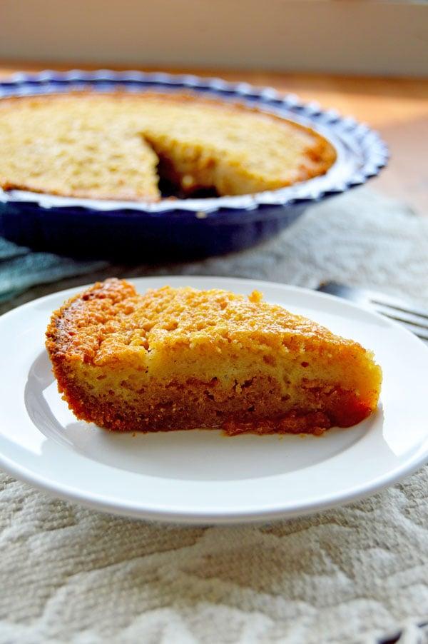 Brown Sugar Buttermilk Pie | www.TheHungryTravelerBlog.com