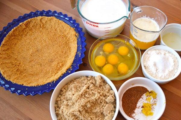Brown Sugar Buttermilk Pie - The Hungry Traveler