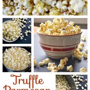 Truffle Parmesan Popcorn