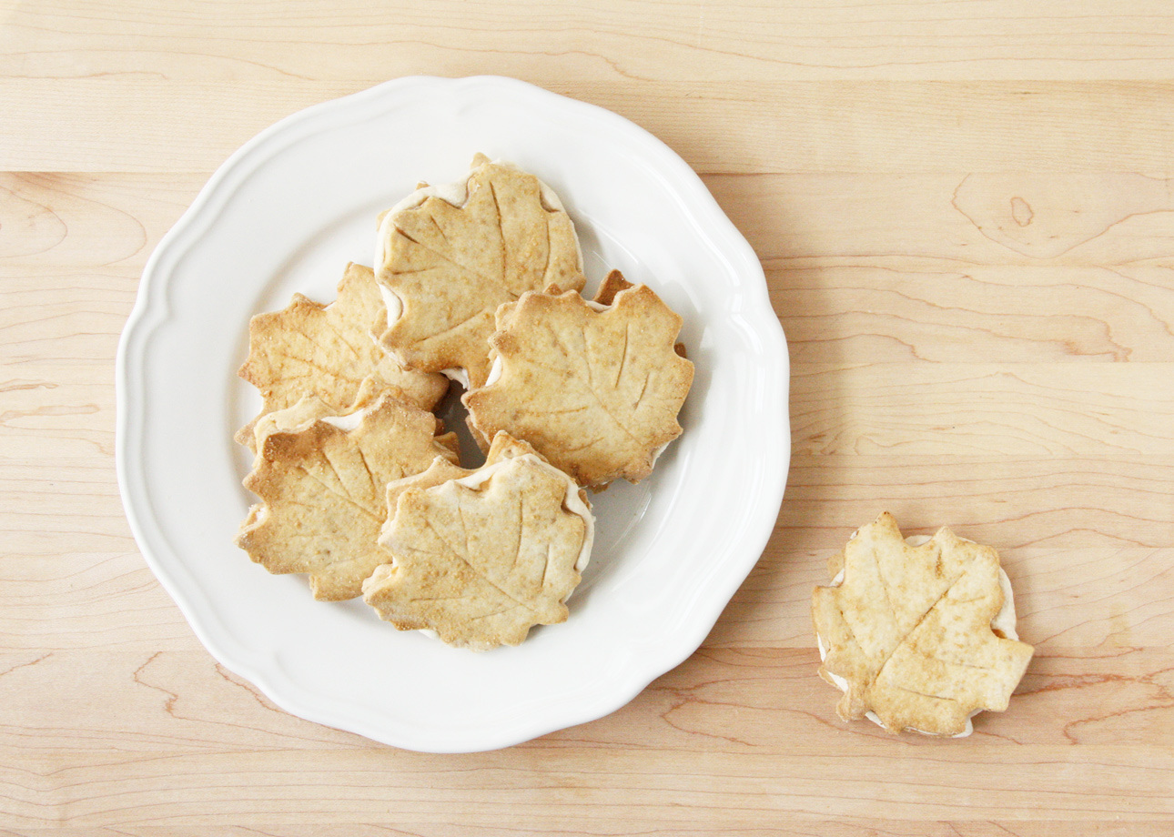 With a nod to the north these buttery sugar cookies pack a delicate crumb and a puremaple oomph Package them inside mapleleaf boxes for a great fall gift