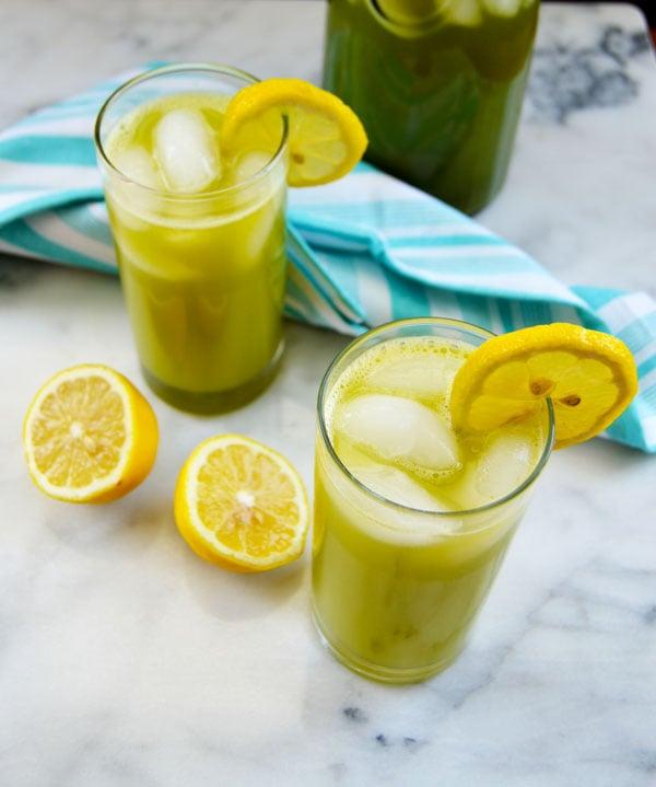 Lemon Mint Drink Recipe Middle East