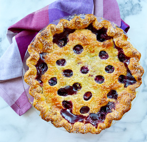 Blueberry Peach Pie The Hungry Traveler