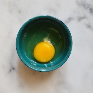 Tips for Better Baking: Crack Eggs into a Dark Bowl to Spot Shells (#45)