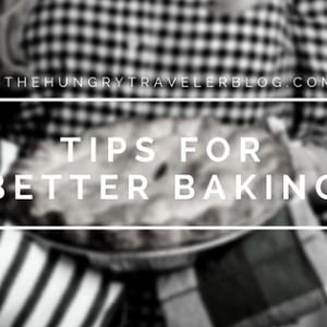 Tips for Better Baking – Always Taste Pie Filling Before Baking (#46)