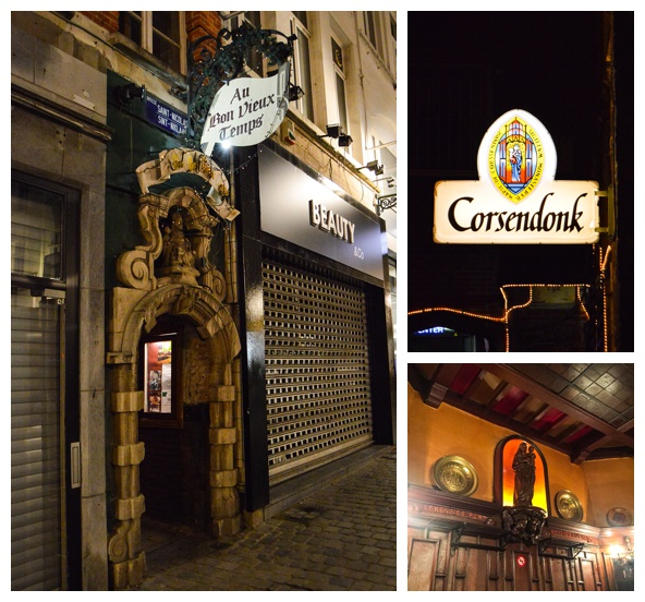 Visiting one of the oldest bars in Brussels on the Brussels Beer and Chocolate Tour
