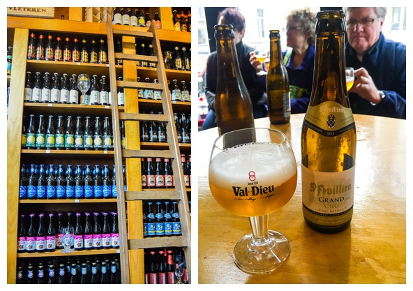 Belgian Beer on the Brussels Beer and Chocolate Tour