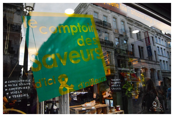 A visit to Le Comptoir des Saveurs on the Brussels Beer and Chocolate Tour