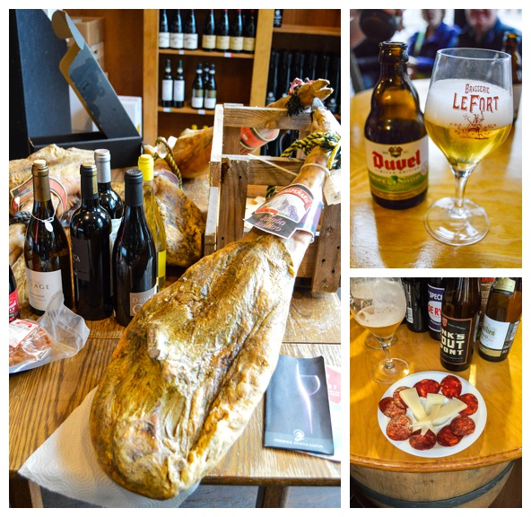 Beer and charcuterie tastings on the Brussels Beer and Chocolate Tour