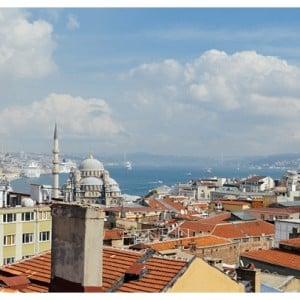 rooftop view Istanbul Grand Bazaar Tour