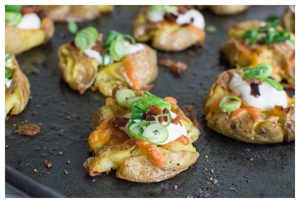 how to make loaded potatoes
